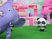 Panda Kiki and Miumiu's Noodle Cooking Competition