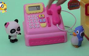 Baby Panda's Hamburger Shop   Kitchen Toys