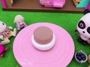 Baby Panda's Birthday Party   Make Strawberry Cake