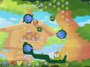 Cut the Rope 2 - level 16 Walkthrough