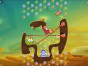 Cut the Rope 2 - level 162 Walkthrough