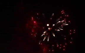 Slow Motion Fireworks