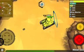 Crash Of Tanks: Pocket Mayhem Gameplay Trailer