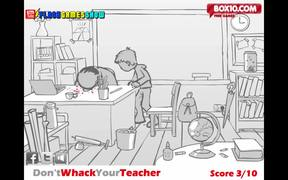 Don't Whack Your Teacher Walkthrough
