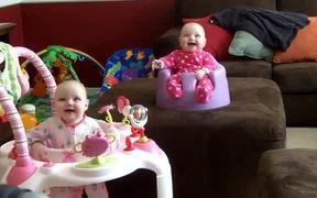 Creepy Laughing Twin Babies