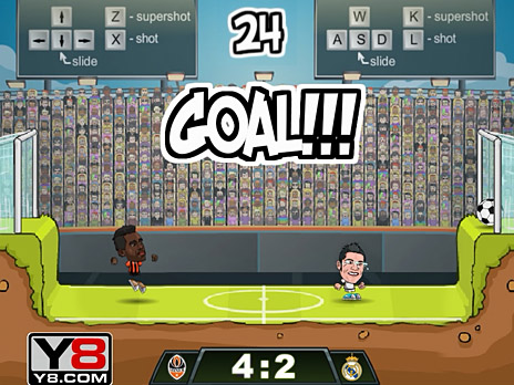 Football Legends 2016 Game Play Online At Y8 Com