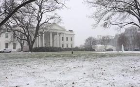 Slow Motion Snow in DC