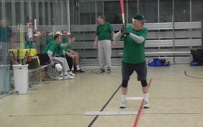 Baseball Senior Citizen Fun