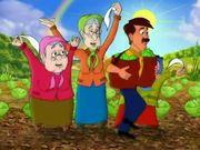"Animated Advertisement for ""GAZPROMBANK"""
