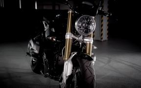 the new BMW motorrad R nineT on the road