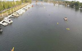 The Augusta 70.3 Swim