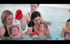 Babies are Natural Swimmers
