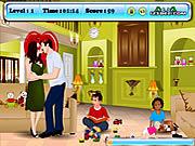 Angelina and Brad Kissing