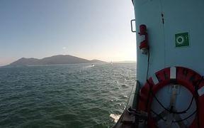Riding Lopez Island