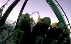 Riddle's Revenge at Six Flags in HD