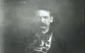 Cowboy Shoots At Audience