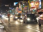 Long Traffic Cars