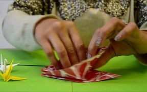 How to Make an Origami Peace Crane