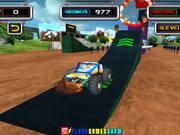 Stunt Monster 3D Walkthrough