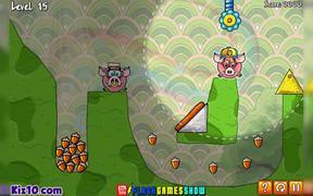 Piggy Wiggy 3: Nuts Walkthrough