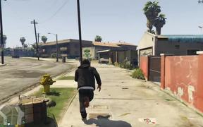 Grand Theft Auto V Killing Pedestrians