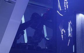 Robotic entertainment on a cruise ship