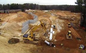 Construction Site Inspection using our new Helicam