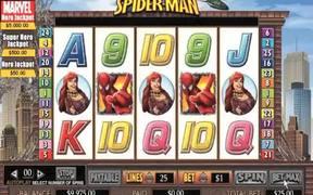 Spiderman Slot Video