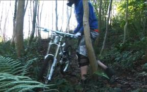 Frankenbigfoot Stalks All Who Ride in the Woods …