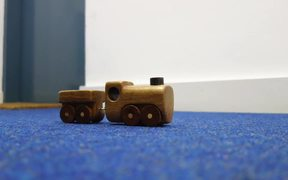 Toy Train Crash