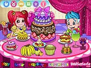 Delicious Cake Dinner Party