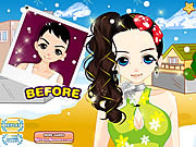 Christmas Party Hair Makeover