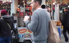 Hot Dog Stand NYC