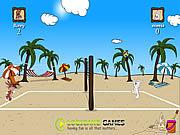 Beach Volleyball Game