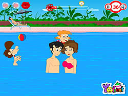 Swimming Pool Kiss Game Play Online At