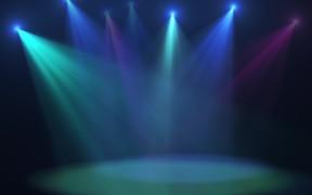 Disco Lights Background Loop