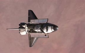 Space Shuttle Backflip