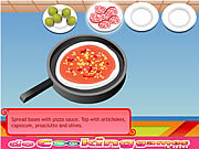 Delicious Pizza Cooking