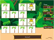Safari Matching Game
