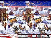 Strawberry Christmas 5 Differences