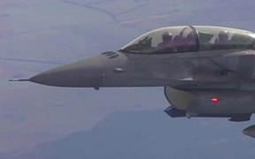 NATO and Russian jets Fight Terrorism in the Skies