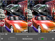 Racing Car Five Difference