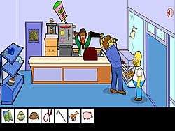 Homero Simpson Saw Game Game Play Online At Y8 Com