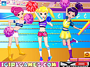 Pretty Cheerful Cheerleaders