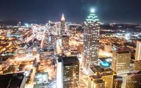 Timelapse View Over Atlanta