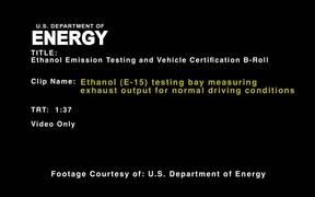 Ethanol Fuel Emissions Testing and Vehicle