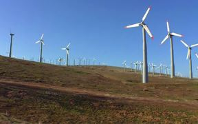 Large-Scale Application of Wind Energy B-Roll