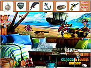 Pirate Room Hidden Objects