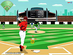 baseball league game play online at y8 com