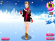 Dressup Winter Girl